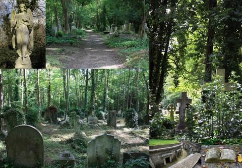 Highgate cemetery1